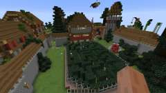 Futuristic Medieval Minecraft Survival Games