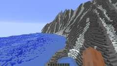 Super realistic mountain