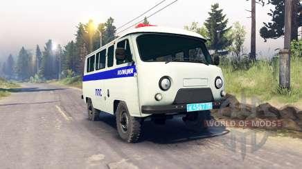 EL UAZ-3909 PPP para Spin Tires