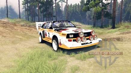 Audi Sport quattro S1 para Spin Tires