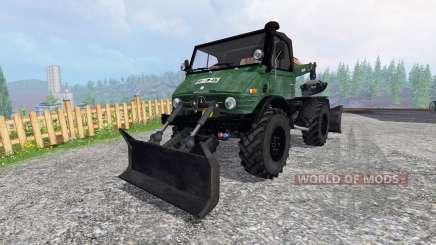 Mercedes-Benz Unimog 416 Forst para Farming Simulator 2015