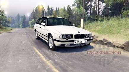 BMW 525iX (E34) Touring para Spin Tires