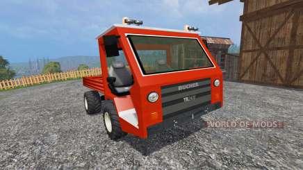 Bucher TR2400 para Farming Simulator 2015