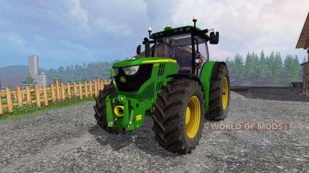 John Deere 6170R v2.1 para Farming Simulator 2015