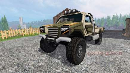 Gekko Utility Vehicle para Farming Simulator 2015