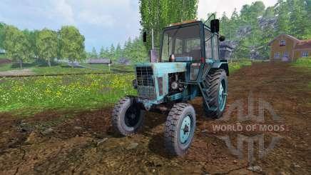 MTZ-80 [azul] v2.0 para Farming Simulator 2015
