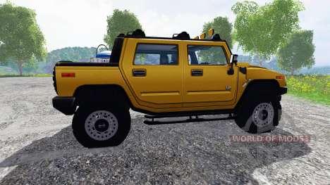 Hummer H2 para Farming Simulator 2015