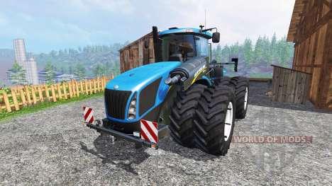 New Holland T9.560 DuelWheel v3.0.2 para Farming Simulator 2015