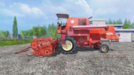 Bizon Z056 [old] para Farming Simulator 2015