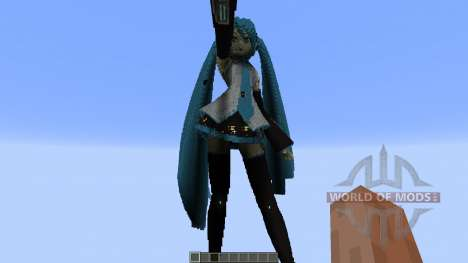 Hatsune Miku para Minecraft