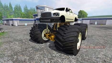 PickUp Monster Truck [super diesel] para Farming Simulator 2015