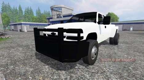 Chevrolet Silverado Duramax para Farming Simulator 2015