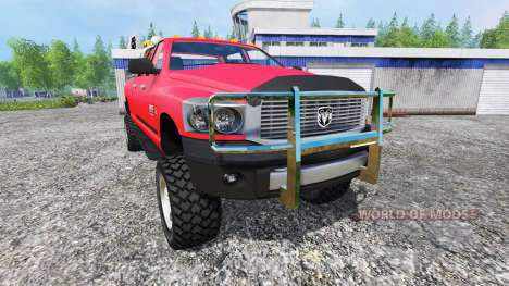 Dodge Ram 2500 Heavy Duty v1.1 para Farming Simulator 2015