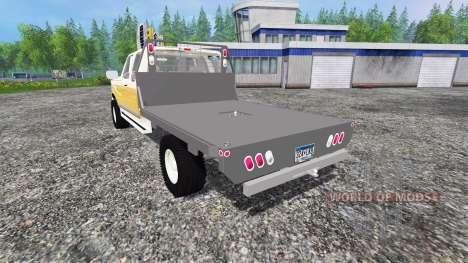 Ford F-150 [flatbed] para Farming Simulator 2015