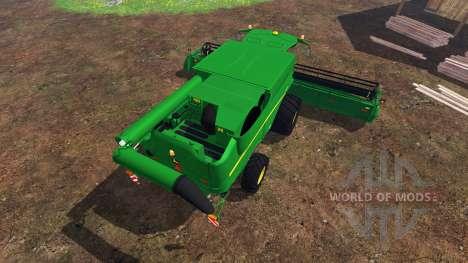 John Deere S 690i v2.0 para Farming Simulator 2015
