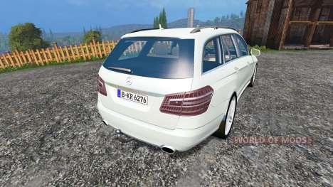Mercedes-Benz E350 CDI Estate v1.1 para Farming Simulator 2015