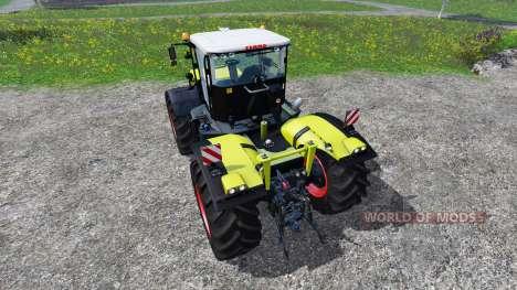 CLAAS Xerion 4500 v2.2 para Farming Simulator 2015
