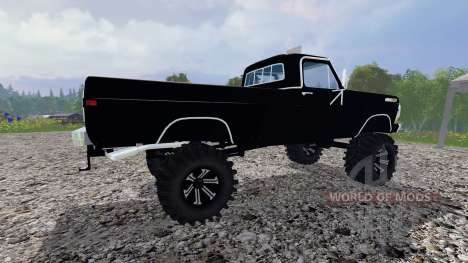 Ford F-250 Highboy 1972 v1.3 para Farming Simulator 2015