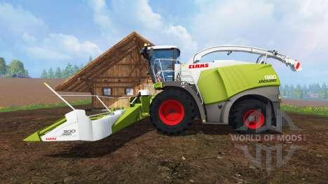 CLAAS Jaguar 980 v2.2 para Farming Simulator 2015