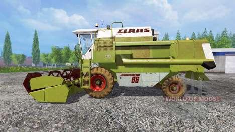 CLAAS Dominator 86 para Farming Simulator 2015