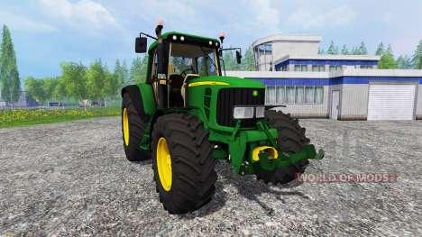 John Deere 6620 v0.8 para Farming Simulator 2015