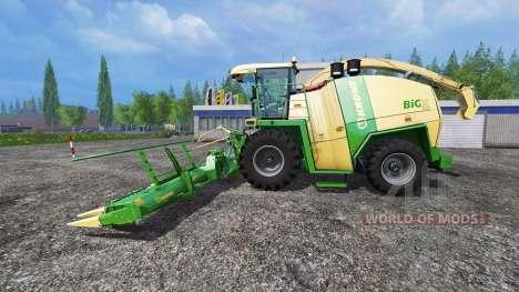 Krone Big X 1100 [horsch titan] para Farming Simulator 2015