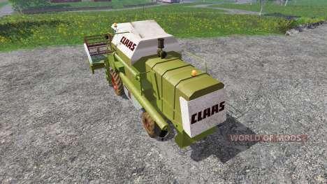 CLAAS Dominator 86 v1.5.5b para Farming Simulator 2015