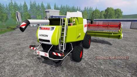 CLAAS Lexion 750 v1.1 para Farming Simulator 2015