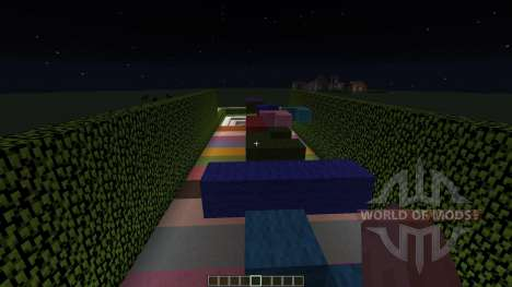 Rainbow Parkour para Minecraft