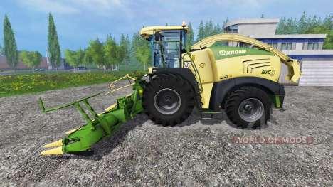Krone Big X 580 v1.1 para Farming Simulator 2015