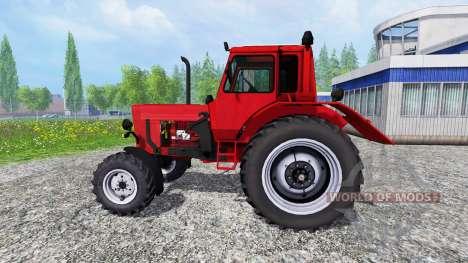 MTZ-82 [cargadora frontal] para Farming Simulator 2015
