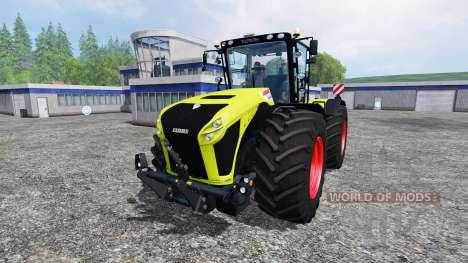 CLAAS Xerion 4500 v3.0 para Farming Simulator 2015