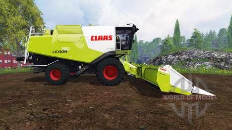 CLAAS Lexion 750 v1.4 para Farming Simulator 2015