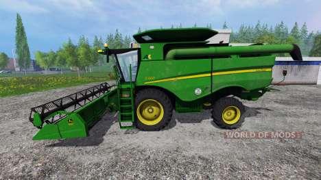 John Deere S660 v1.1 para Farming Simulator 2015