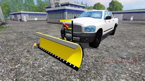 Dodge Pickup [snowplow] para Farming Simulator 2015