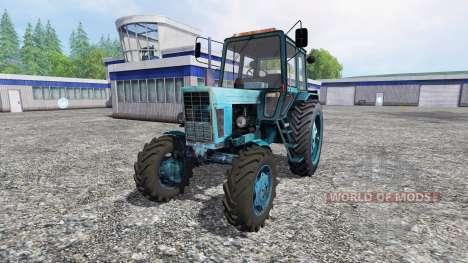 MTZ-REINO UNIDO para Farming Simulator 2015