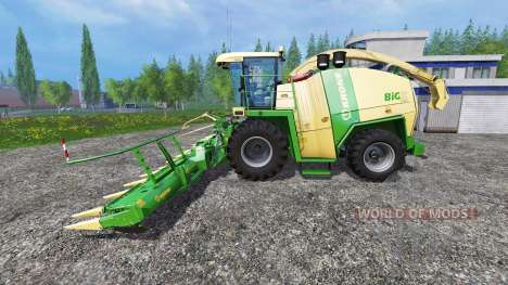 Krone Big X 1100 [125000 liters] para Farming Simulator 2015