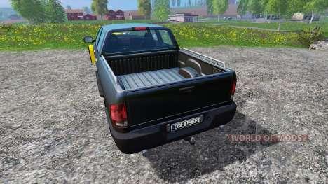 Dodge Pickup [snowplow] v2.1 para Farming Simulator 2015
