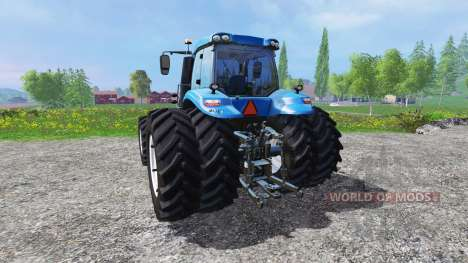 New Holland T8.435 DuelWheel v4.0.1 para Farming Simulator 2015