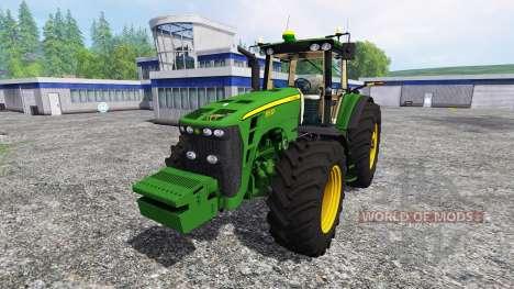 John Deere 8530 [EU] v2.0 para Farming Simulator 2015