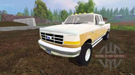 Ford F-150 XL 1992 v1.1 para Farming Simulator 2015