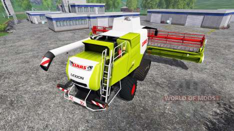 CLAAS Lexion 750TT v1.2 para Farming Simulator 2015