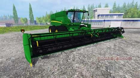 John Deere S680 [TerraTire] para Farming Simulator 2015