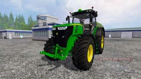 John Deere 7290R and 8370R v0.4 para Farming Simulator 2015