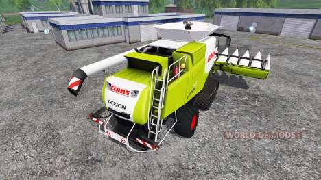 CLAAS Lexion 770TT v1.1 para Farming Simulator 2015