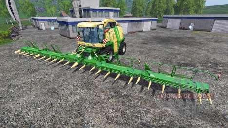 Krone Easy Collect 3053 para Farming Simulator 2015