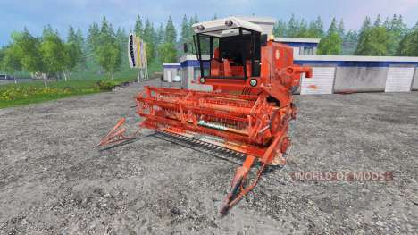 Bizon Z056 [red] para Farming Simulator 2015