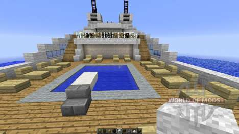 Le Soleal Minecraft Ship Replica para Minecraft