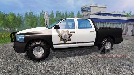 PickUp Sheriff para Farming Simulator 2015
