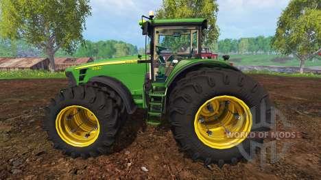 John Deere 8530 [EU] v3.0 para Farming Simulator 2015